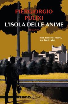 L' isola delle anime - Piergiorgio Pulixi - copertina