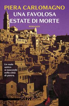 Una favolosa estate di morte - Piera Carlomagno - copertina