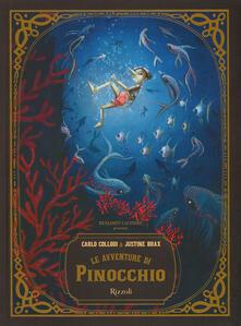 Le avventure di Pinocchio - Carlo Collodi - copertina