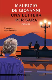 Una lettera per Sara - Maurizio De Giovanni - copertina
