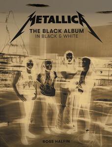 Libro Metallica: The Black Album in Black & White Metallica