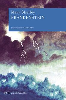 Frankenstein ovvero il Prometeo moderno - Mary Shelley - copertina
