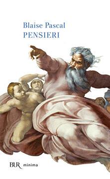 Pensieri - Blaise Pascal - copertina