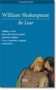 Libro Re Lear William Shakespeare