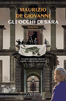 Gli occhi di Sara - Maurizio De Giovanni - copertina