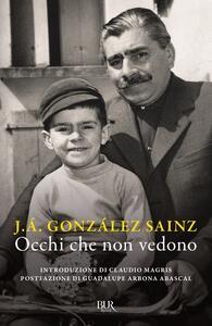 Libro Occhi che non vedono J. Á. González Sainz