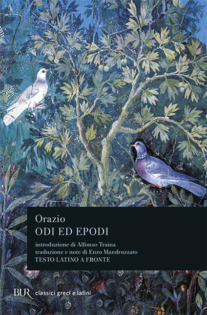 Odi ed epodi - Quinto Orazio Flacco - copertina