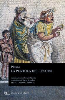 Ristorantezintonio.it La pentola del tesoro. Testo latino a fronte Image