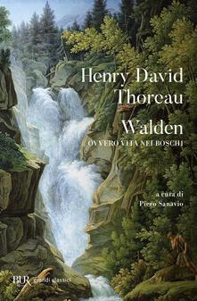 Walden ovvero Vita nei boschi - Henry David Thoreau - copertina