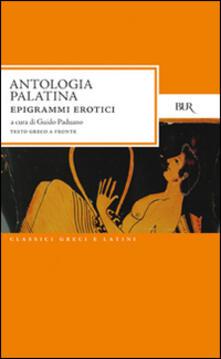 Listadelpopolo.it Antologia palatina. Epigrammi erotici Image