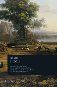 Libro Elegie. Testo latino a fronte Albio Tibullo