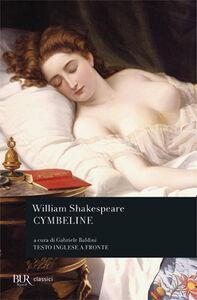 Foto Cover di Cymbeline, Libro di William Shakespeare, edito da BUR Biblioteca Univ. Rizzoli