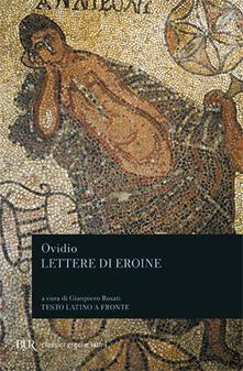 Lettere di eroine - P. Nasone Ovidio - copertina