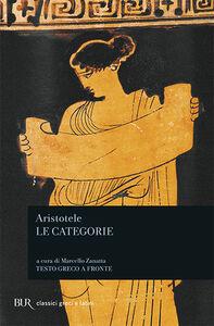 Libro Le categorie Aristotele