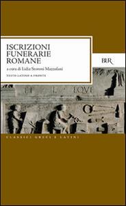 Iscrizioni funerarie romane