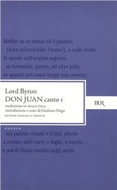Don Juan. Canto 1°. Testo inglese a fronte