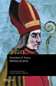 Libro Proslogion Anselmo d'Aosta (sant')