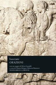 Libro Orazioni. Testo greco a fronte Isocrate