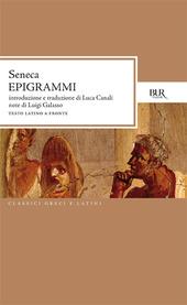 Epigrammi. Testo latino a fronte