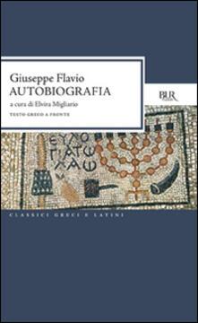Autobiografia - Giuseppe Flavio - copertina