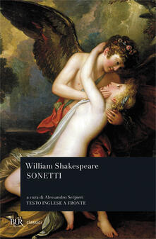 I sonetti. Testo inglese a fronte - William Shakespeare - copertina