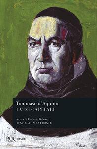 Libro Vizi capitali Tommaso d'Aquino (san)