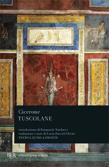 Tuscolane - Marco Tullio Cicerone - copertina