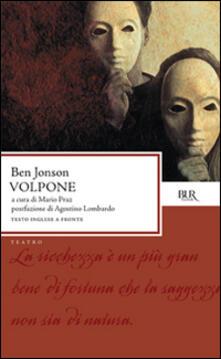 Volpone - Ben Jonson - copertina