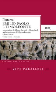 Libro Vite parallele. Emilio Paolo e Timoleonte Plutarco