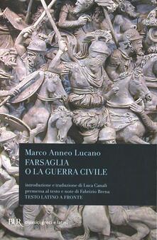 Listadelpopolo.it Farsaglia o la guerra civile Image