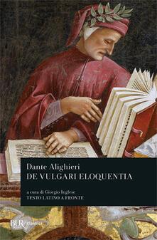 De vulgari eloquentia - Dante Alighieri - copertina