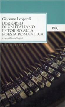Promoartpalermo.it Discorso di un italiano intorno alla poesia romantica Image
