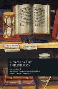 Libro Philobiblon Riccardo de Bury