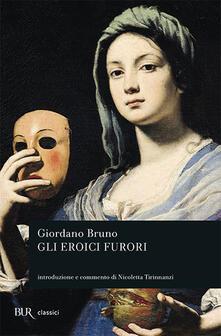 Gli eroici furori - Giordano Bruno - copertina