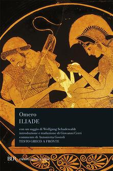 L' iliade - Omero - copertina