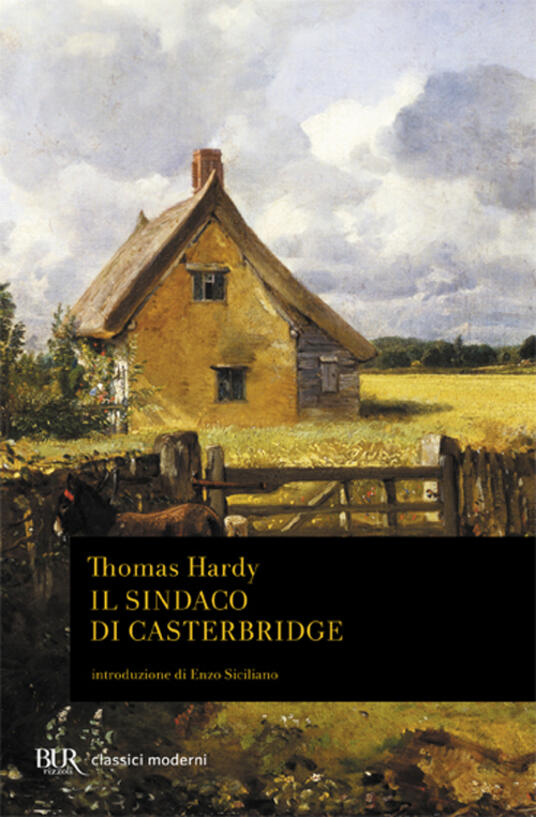 Il sindaco di Casterbridge - Thomas Hardy - copertina
