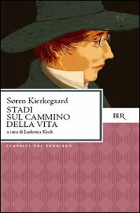 Stadi sul cammino della vita - Søren Kierkegaard - copertina