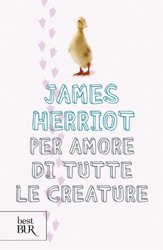 Per amore di tutte le creature - James Herriot - copertina
