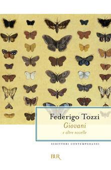 Giovani e altre novelle - Federigo Tozzi - copertina