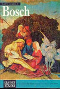 Foto Cover di Bosch, Libro di  edito da Rizzoli