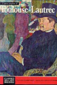 Foto Cover di Toulouse Lautrec, Libro di  edito da Rizzoli
