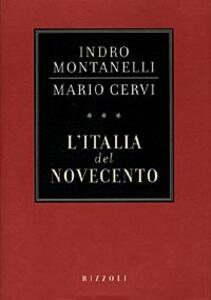 L' Italia del Novecento