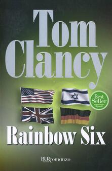 Rainbow six - Tom Clancy - copertina