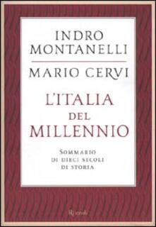 L Italia del millennio. Sommario di dieci secoli di storia.pdf