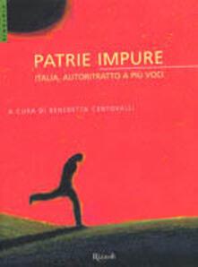 Patrie impure. Italia, autoritratto a più voci - copertina