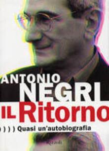 Camfeed.it Il Ritorno. Quasi un'autobiografia Image