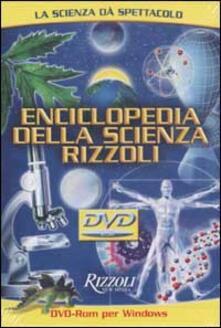 Daddyswing.es Enciclopedia della scienza Rizzoli. Con DVD-ROM per Windows Image