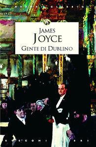 Foto Cover di Gente di Dublino, Libro di James Joyce, edito da Rusconi Libri