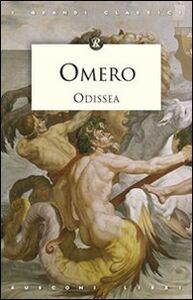 Foto Cover di Odissea, Libro di Omero, edito da Rusconi Libri