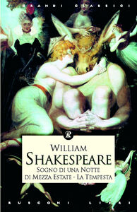 Libro Sogno di una notte di mezza estate-La tempesta William Shakespeare